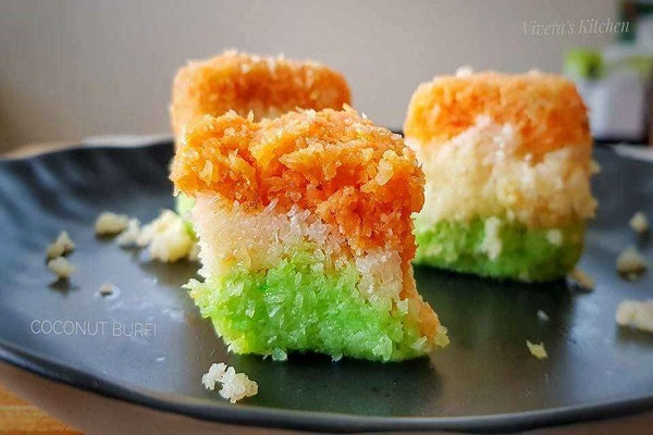 Tri colour recipes