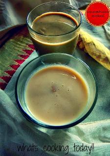 Palada Pradhaman and Ethakka Pradhaman (Banana Pradhaman) for the Onam Sadya