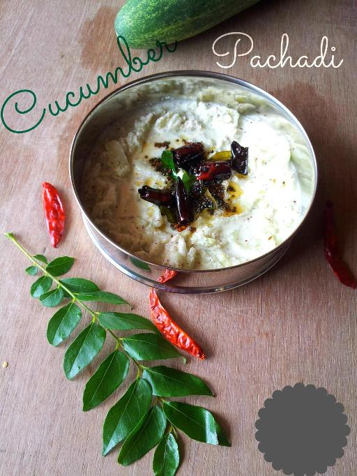 Cucumber (Kakkarikka) Pachadi | A Special Side Dish for Onam Sadya