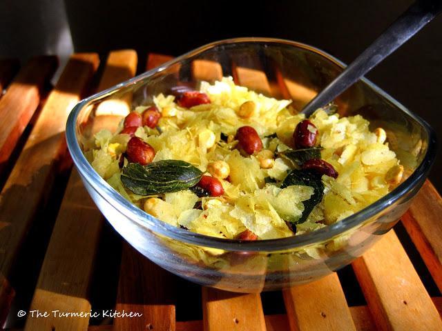 Ushering in Diwali with Chivda a.k.a. Chuda mixture