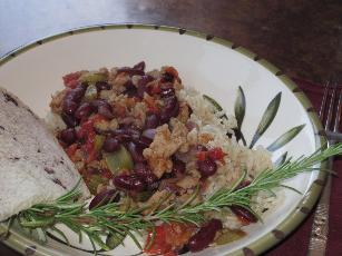 Weeknight Red Beans And Rice