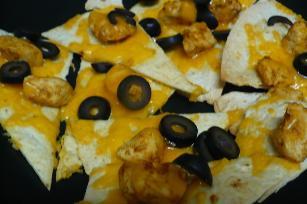 Super Bowl Easy Chicken Or Beef Nachos