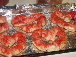 Valentine Heart Breadsticks