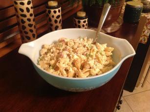 Macaroni Crabmeat Salad