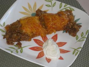Weeknight Easy Beef Enchiladas