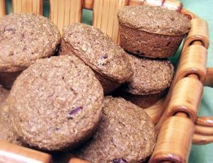 Jens Low Fat High Fiber Bran Muffins