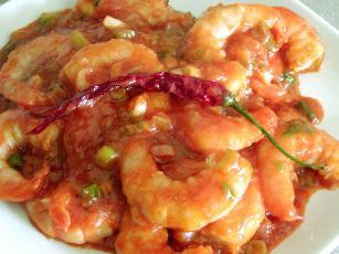 Szechwan Shrimp (chili Shrimp)