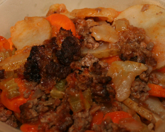 Meal-in-one Casserole