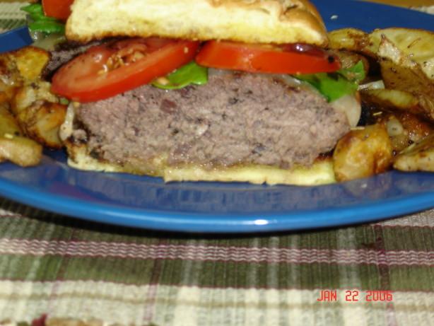 Savory Hamburgers