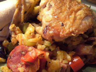 Basque Chicken Casserole