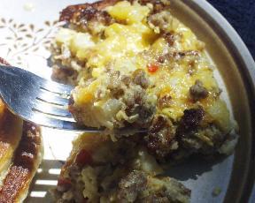 Easy Breakfast Pie