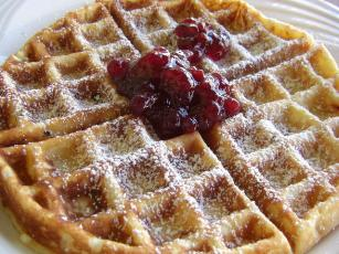 Our Favourite Belgian Waffles