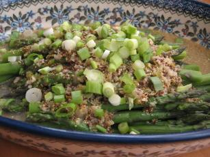 Fresh Asparagus With Lemon-herb Sauce