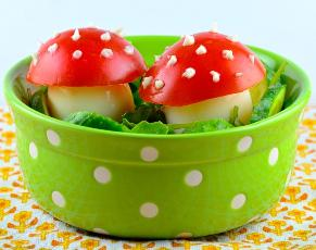 Toadstool Salad (for Kids!)