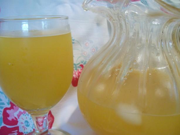 Mango-ginger Mocktails