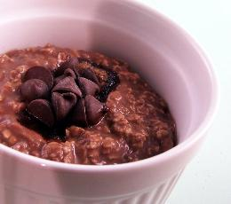 Super Fast Chocolate Oatmeal