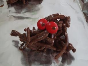 Bernices Halloween Spiders