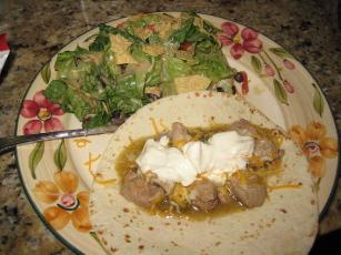 Mexican-style Tortilla Salad