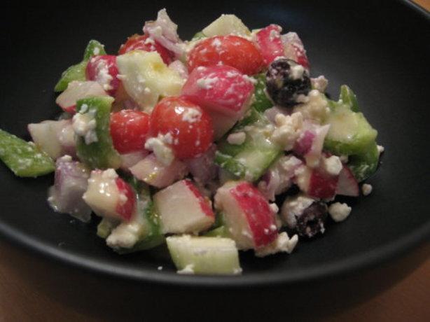 Mediterranean Salad In Minutes
