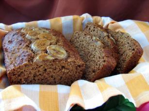 Low-fat, High-fiber Yummy Banana Bread
