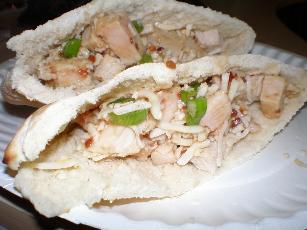 Tasty Turkey Pita