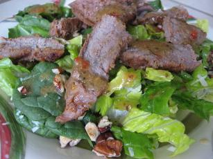 Panera Breads Bistro Steak Salad