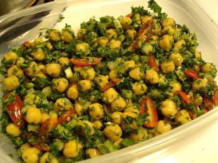 Garbanzo And Parsley Salad