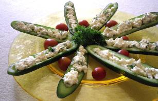 Stuffed Cucumbers