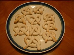 Gluten-free Pretzel Cookies