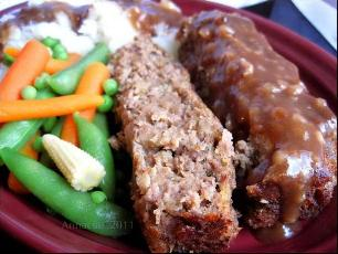 Ketchup-less Meatloaf