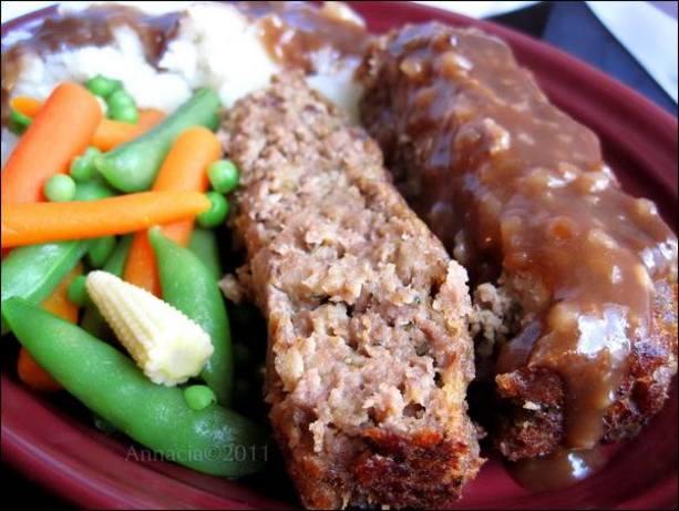 Ketchup-less Meatloaf