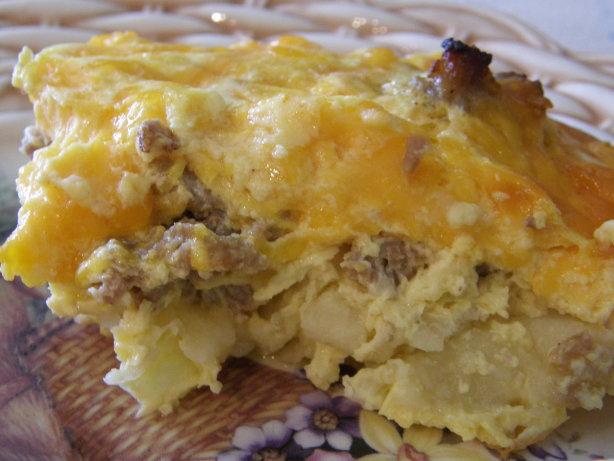Easy Country Breakfast Casserole