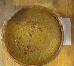 Non-dairy Pumpkin Pie