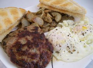 Burger King Breakfast Sausage Patties