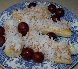Tropical Banana Snack