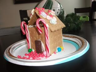 Family Funs Gingerbread House For Toddlers