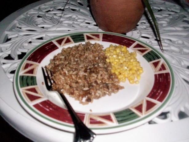Hamburger & Rice Skillet Meal