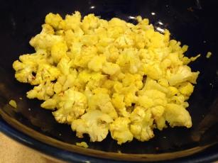 Cauliflower Popcorn (diabetic Friendly)