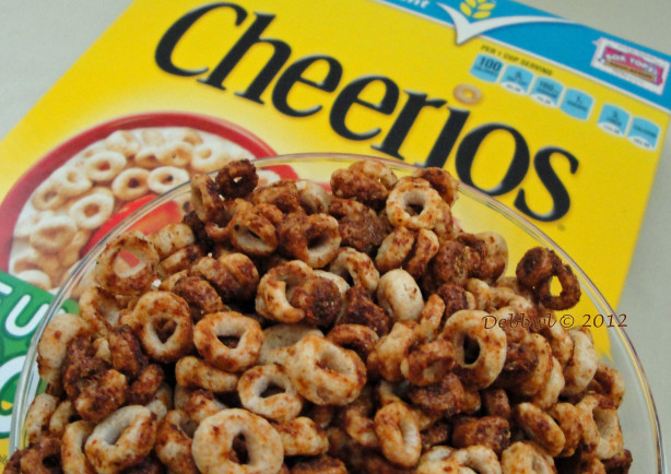 Zesty Cheerios Diet Snack