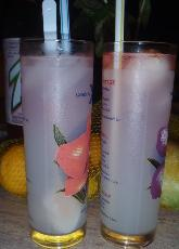 Lemonade Lychee And Coconut Cocktails