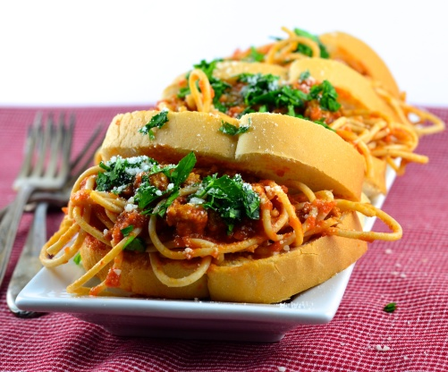 Murray's Spaghetti Sandwiches