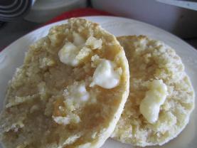 Cornmeal-Oat English Muffins