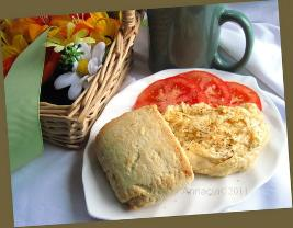 Fast Food-Style Biscuits (For 2)