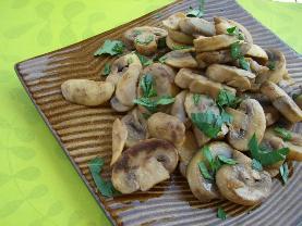 Olive Oil Sauteed Mushrooms