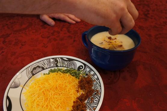 Loaded Baked Potato Soup-Lactose Free