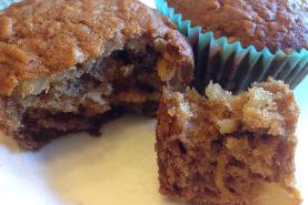 Food Processor-Fast Morning Glory Muffins