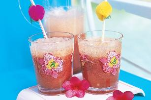Strawberry mocktails