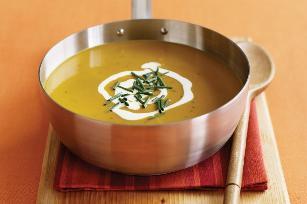 South Indian pumpkin coconut soup