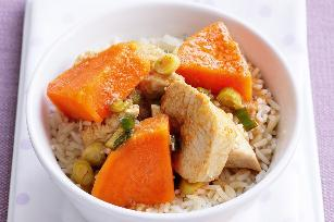 Thai butterfly chicken curry