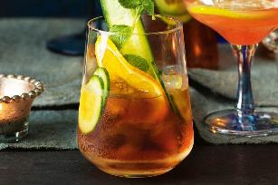 Classic Pimms and dry punch